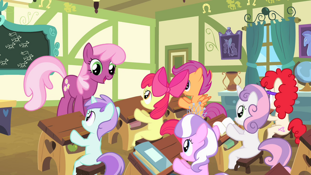 File:Cheerilee addresses the class S4E05.png