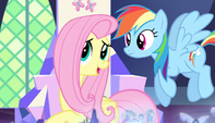"Fluttershy ""maybe I'd better go with them"" S5E1"
