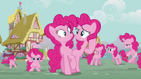 Pinkie Pie 'same adorable mane' S3E03