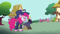 Pinkie Pie as General Firefly with a cannon S4E21.png