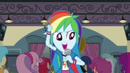 "Rainbow Dash ""our time has finally"" EG3"