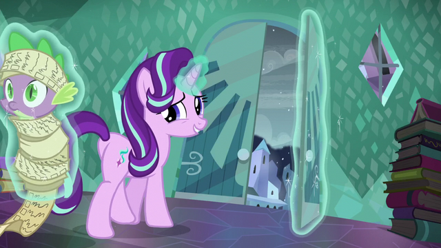 File:Starlight walking to the door while levitating Spike S6E2.png
