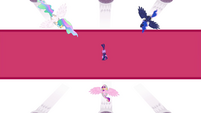 The three princesses around Twilight S4E26
