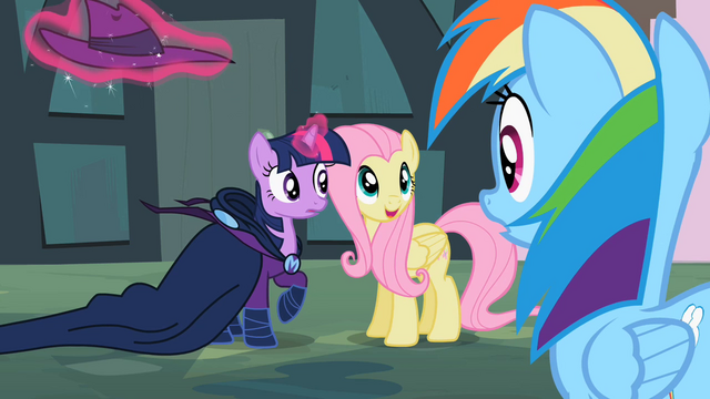File:Twilight and Fluttershy Revealing MDW S2E08.png