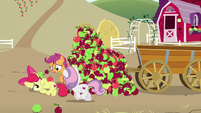 Big Mac covered in apples S6E4
