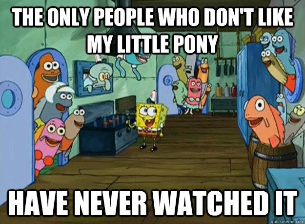 File:FANMADE My Little Pony x SpongeBob meme.jpg
