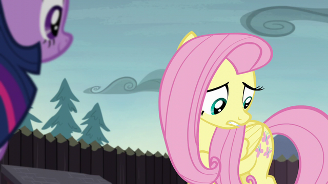 File:Fluttershy looking at her cutie mark S5E23.png