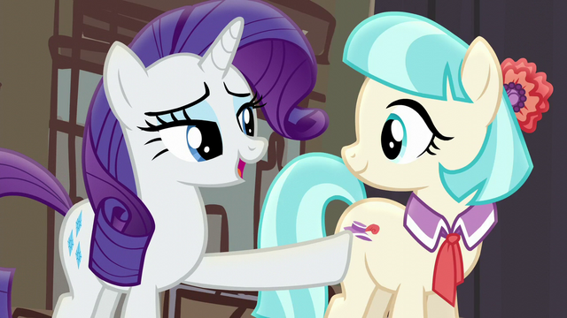 "File:Rarity ""Coco and I were lost"" S5E16.png"