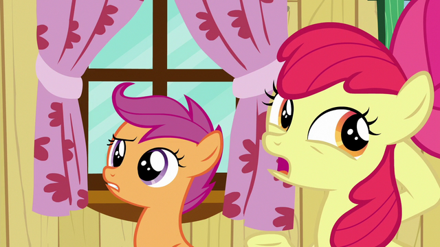 """File:Apple Bloom """"you might've heard some tall tales"""" S6E19.png"""