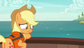Applejack feeling ashamed S6E22.png