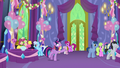 Discord vanishes away from Twilight again S7E1.png