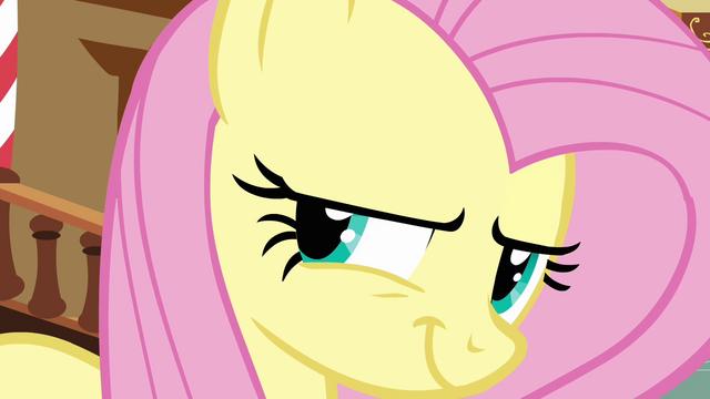 File:Fluttershy evil smile S02E19.png