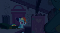 Rainbow Dash happy to see Mrs. Cake S6E15