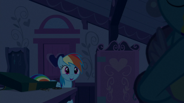 File:Rainbow Dash happy to see Mrs. Cake S6E15.png
