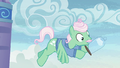 Cloud casing slips out of Mr. Shy's hooves S6E11.png