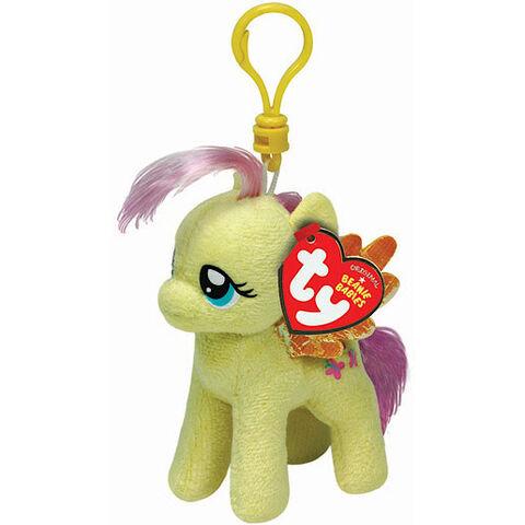 File:Fluttershy Ty Beanie Baby keychain.jpg