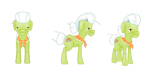 File:My little pony mobile game Granny Smith Model.png