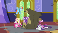 Ponies and animals drenched in water S6E21.png