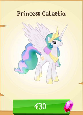 File:Princess Celestia MLP Gameloft.png