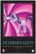 """Twilight Sparkle """"Determination"""" poster from ComicCon 2012"""