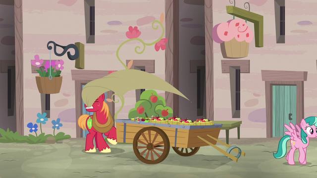 File:Big McIntosh pulls tarp off of apple cart S7E8.png