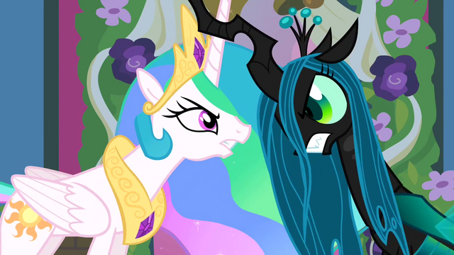 File:Celestia and Chrysalis lock horns S02E26.png