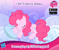 MLP mobile game No time for Sleeping promo.png