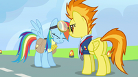 Rainbow Dash sudden absorption S3E7