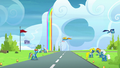 Rainbow crosses the runway without looking S6E7.png