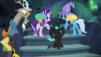 "Thorax ""we'll be spotted for sure"" S6E26"