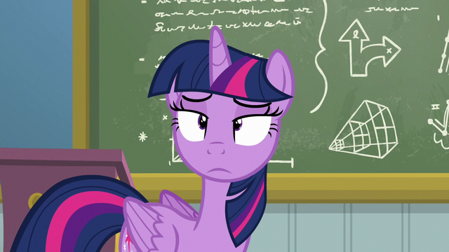 File:Twilight not amused by Rainbow Dash's snoring S6E24.png