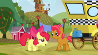 Babs cheers up Apple Bloom S3E8
