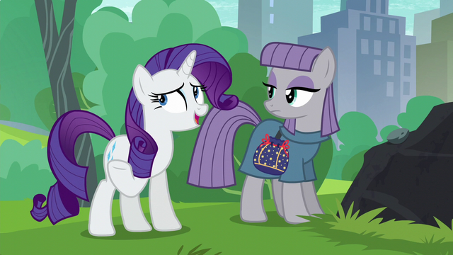 "File:Rarity ""considering what Pinkie Pie had to give up"" S6E3.png"