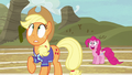 Applejack starting to sweat S6E18.png
