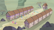 Equality village celebrating S5E2.png