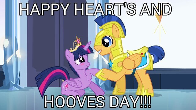 """File:FANMADE Flash and Twilight """"Happy Heart's and Hooves Day!!!"""".jpg"""