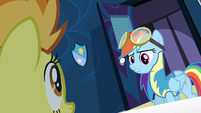 Rainbow Dash being reckless S3E7