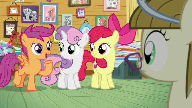 """File:Scootaloo """"you've come to the right place!"""" S7E6.png"""