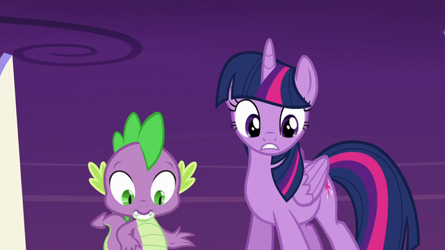 File:Twilight and Spike look at the Cutie Map S5E26.png