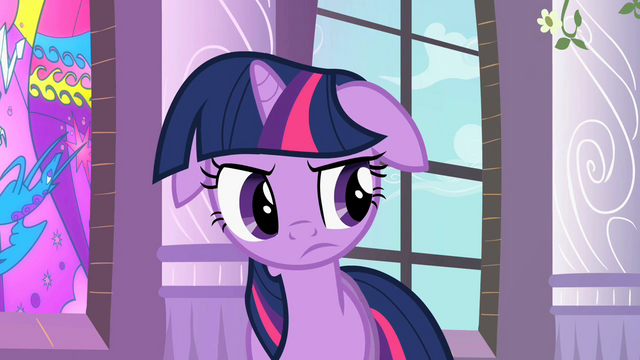 File:Twilight thinking after Celestia's explanation S2E1.png