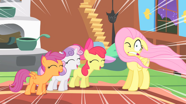 File:Fluttershy and the CMC S01E17.png