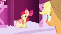 Apple Bloom in her Gala dress S5E7