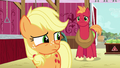 Applejack looking toward the blight sprayers S6E23.png