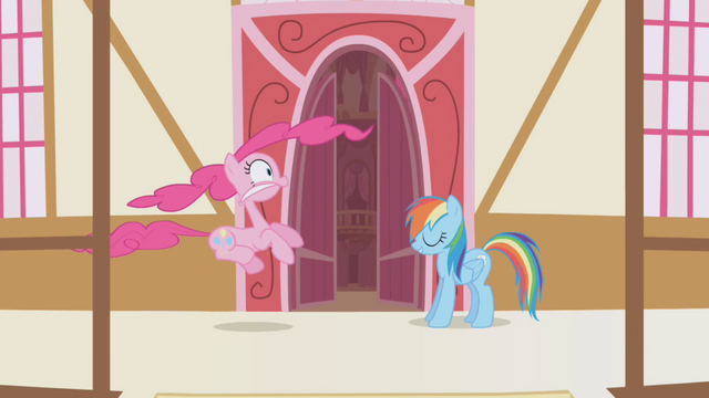 "File:Pinkie Pie and Rainbow ""all in good fun"" S1E5.png"