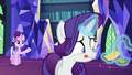Rarity sewing tiny pieces of fabric S6E21.png