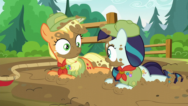 File:Applejack and Rara look at each other S5E24.png