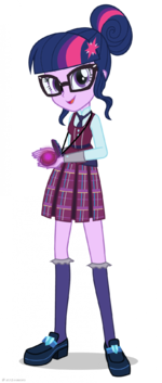 Friendship Games Crystal Prep Twilight Sparkle artwork