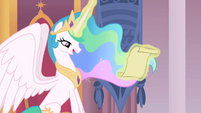 Princess Celestia's magic glow color change