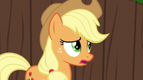 "Applejack ""is somethin' wrong, Apple Bloom?"" S6E14"