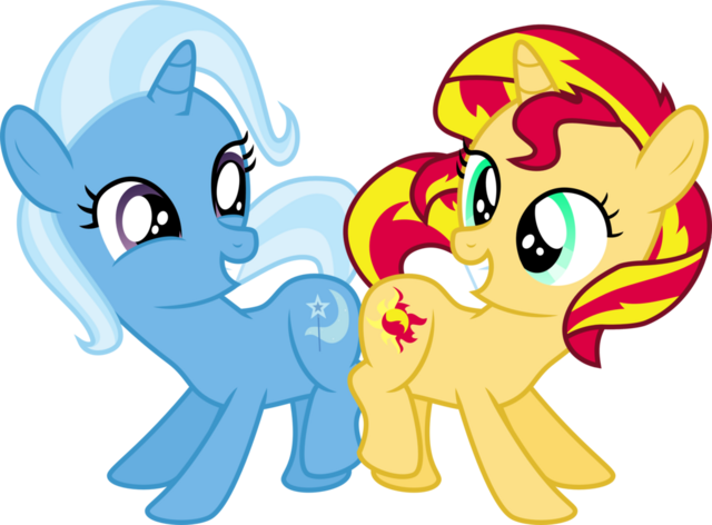 File:FANMADE Trixie and Sunshet Shimmer.png